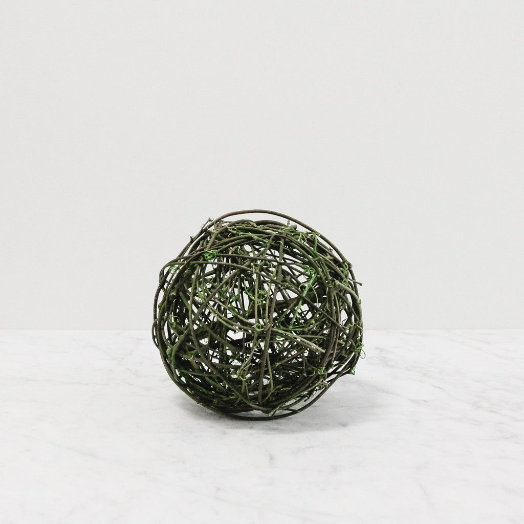 Green Decorative Ball - Assorted Sizes