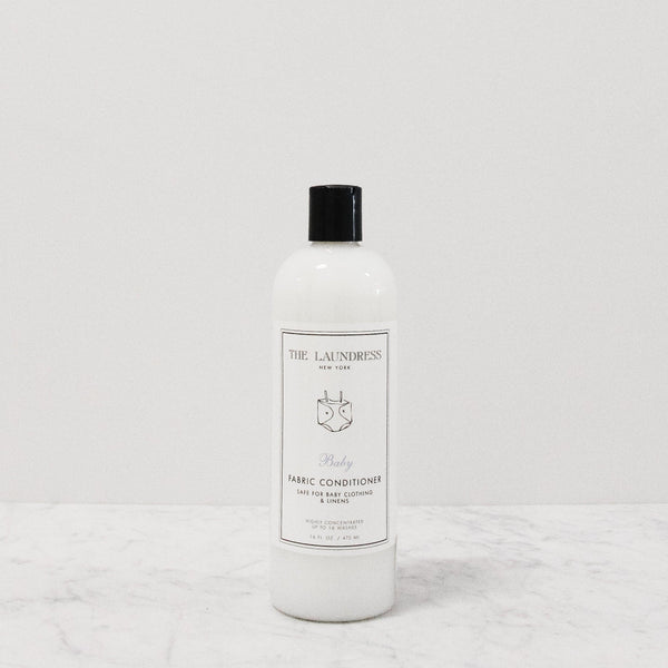 bottle of laundress baby fabric conditioner or softener