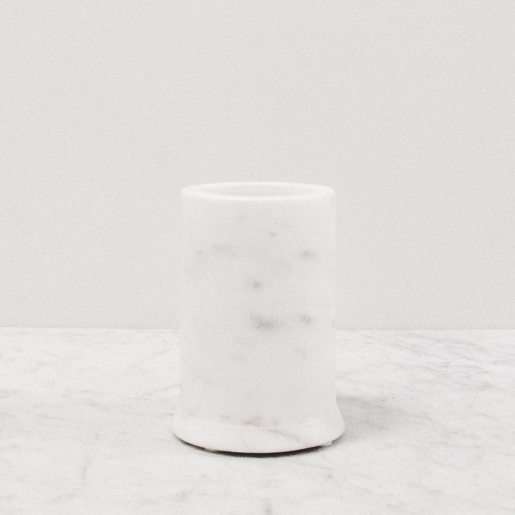 Lothantique Marble storage Tumbler for the bathroom