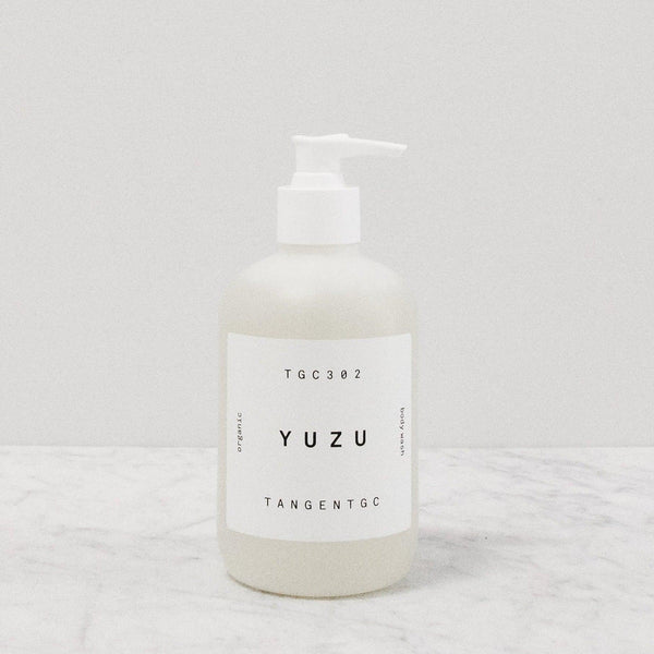 Tangent GC Yuzu Citrus body wash pump bottle
