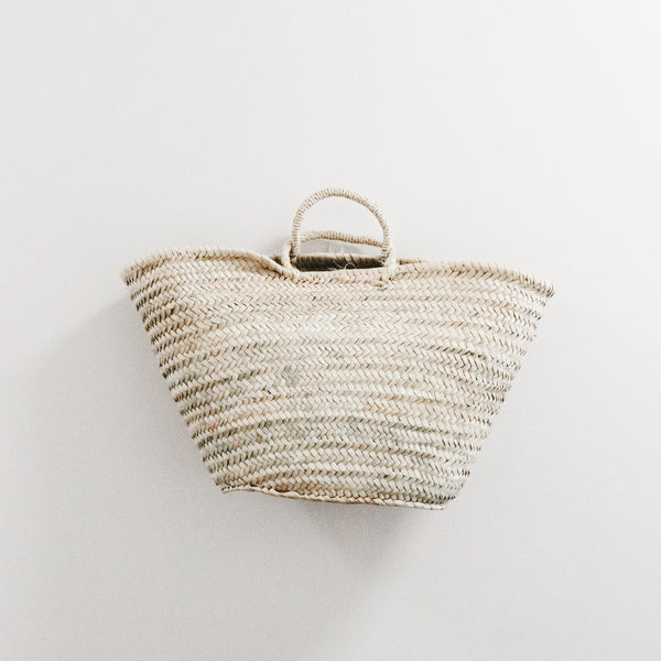 French Market Sisal Strapped Bag