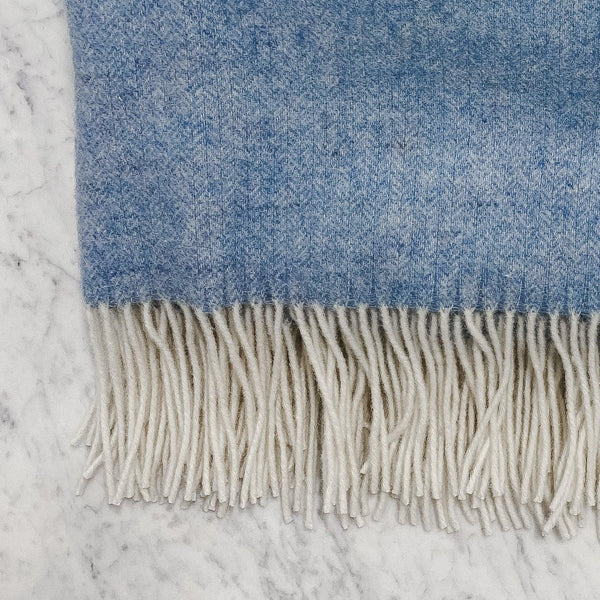 Linen Way blue Soho Throw