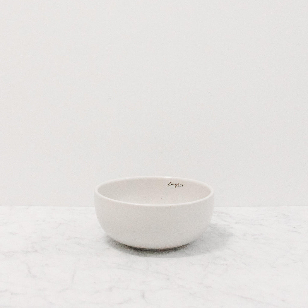 casafina pacifica cereal bowl in vanilla bean