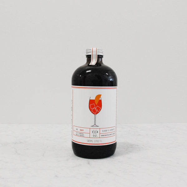 bottle of ¾ oz. Tonic Maison - Spritz Syrup