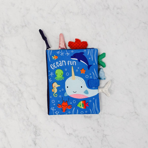 Make Believe Ideas Ocean Fun Cloth Book