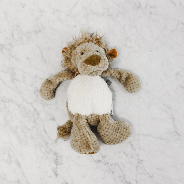 Moulin Roty les baba bou lion stuffed animal toy