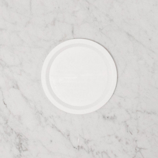 weck white keep fresh plastic lid in extra large