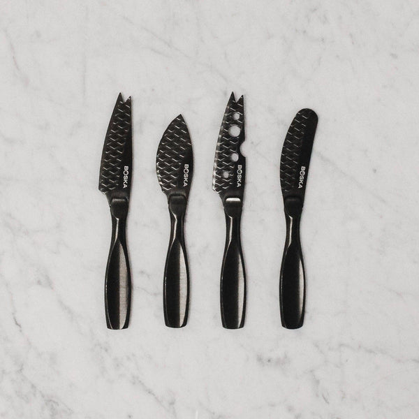 BOSKA Monaco + Black Cheese Knife set of 3