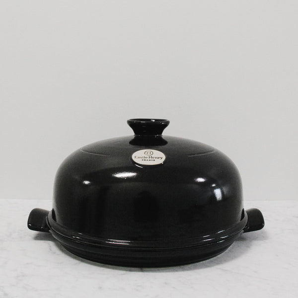 black emile henry ceramic bread cloche