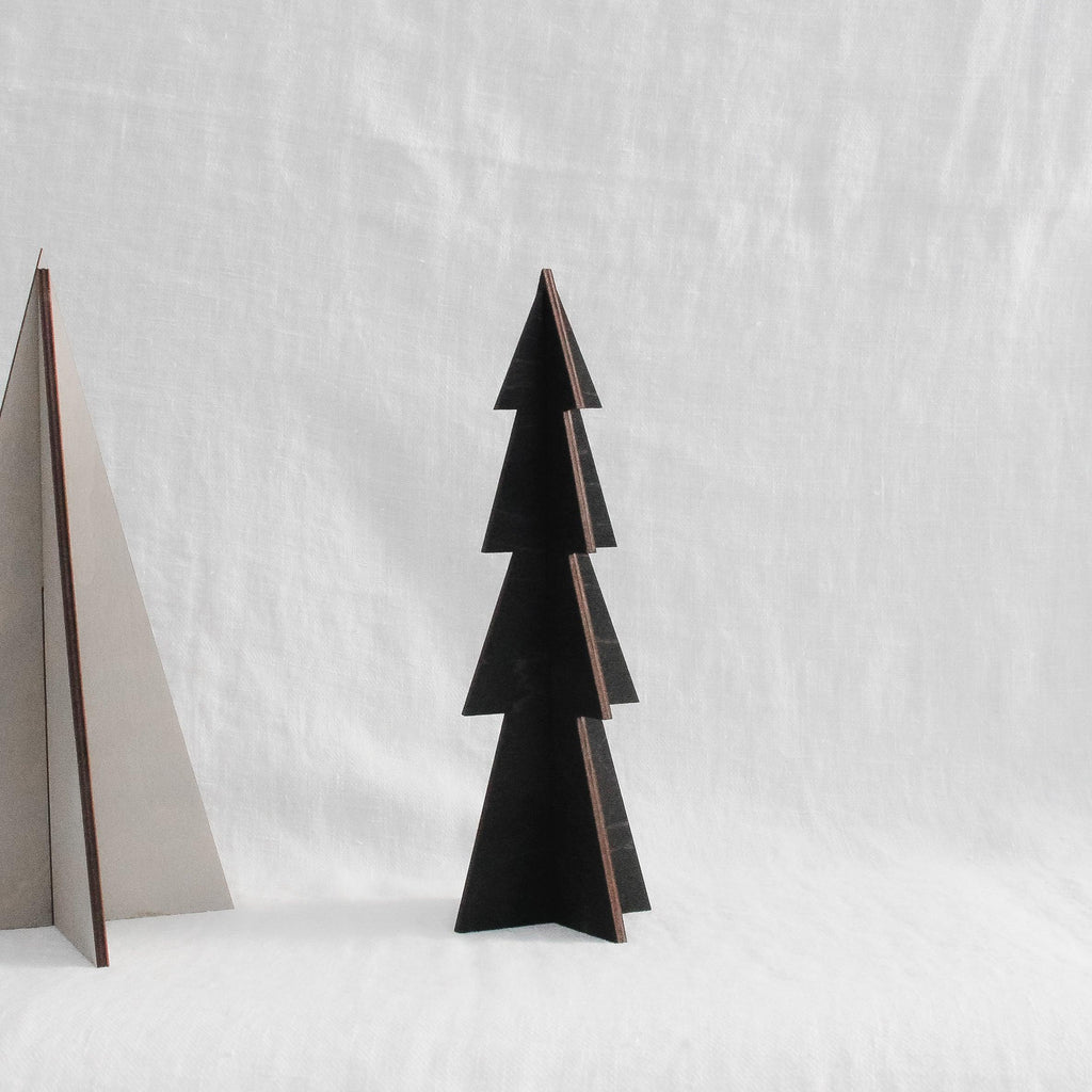 Extra Small Holiday Tree in Black