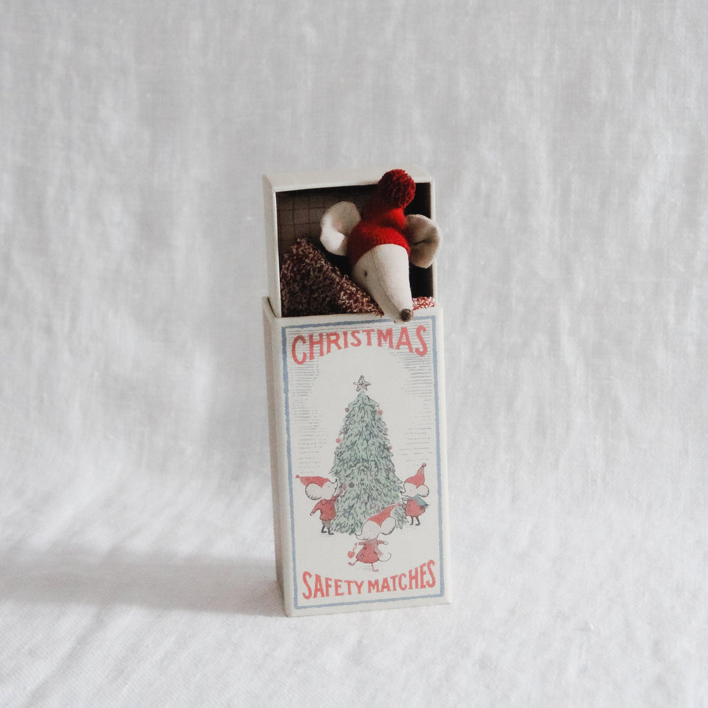 Maileg - Christmas Mouse in Matchbox - Big Sister