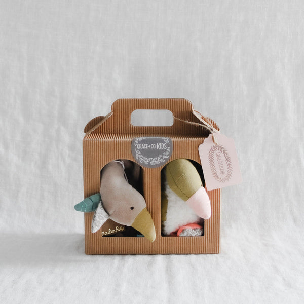Gift Set Moulin Roty Goose Cuddle and Stuffy