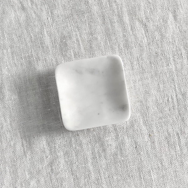 Square Marble Soap Dish