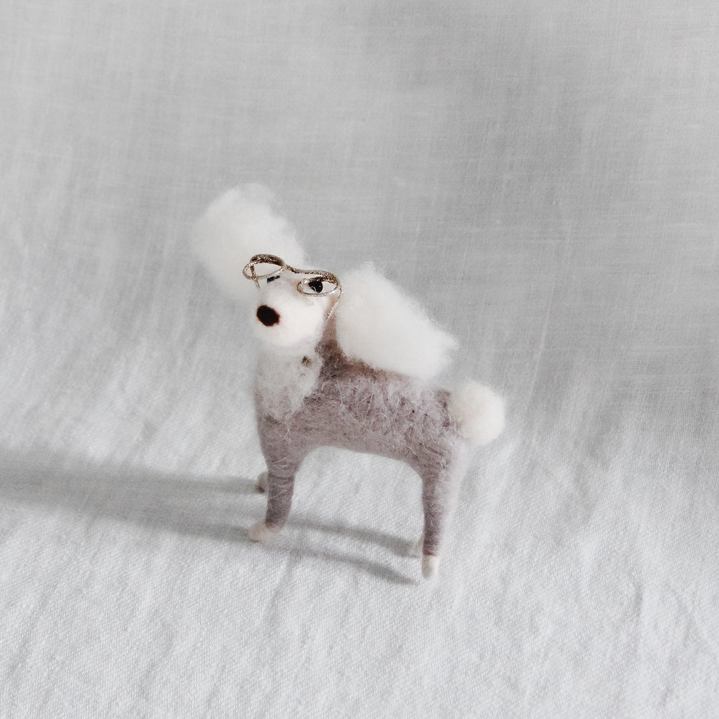 Ornament - Poodle with Glasses
