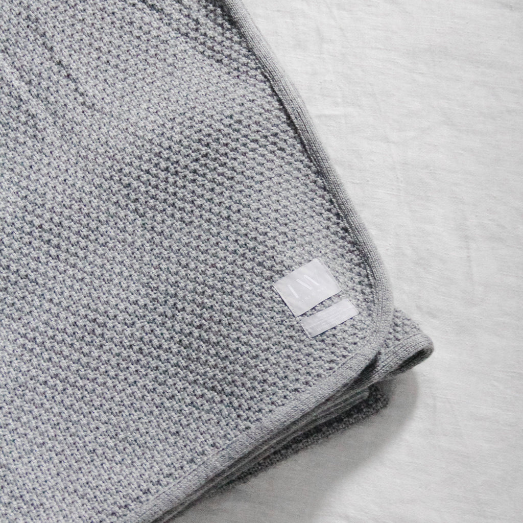 Linen Way Arezzo Blanket Grey