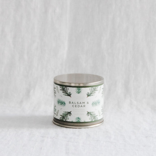 Illume - Noble Holiday Balsam & Cedar Large Tin