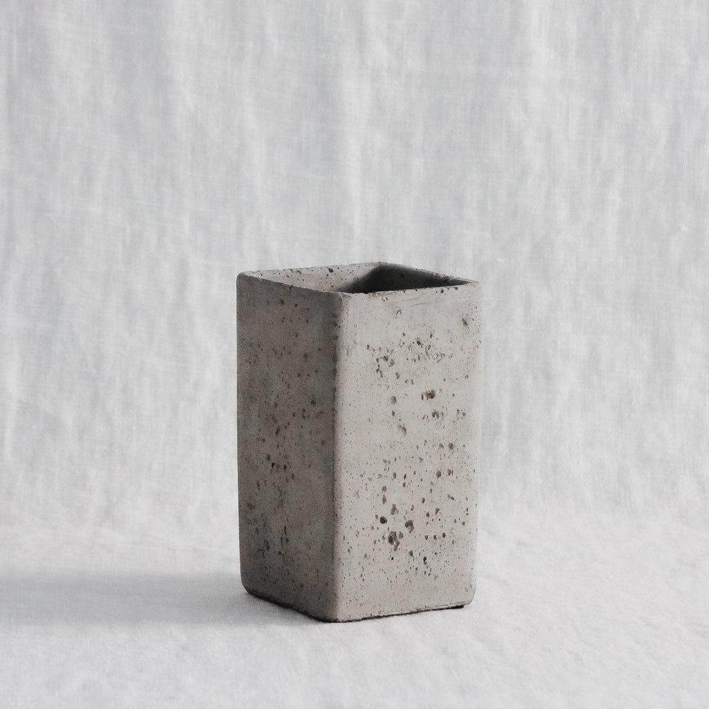 Concrete Pillar Planter