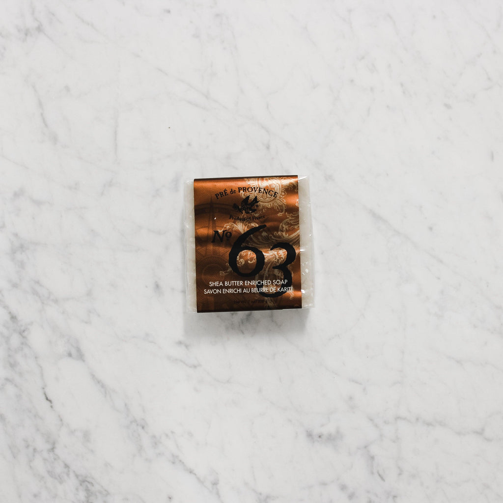 Pre de Provence - No. 63 Men's Cube Soap