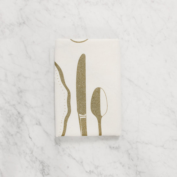 Hester & Cook - Flour Sack Tea Towel - Perfect Setting