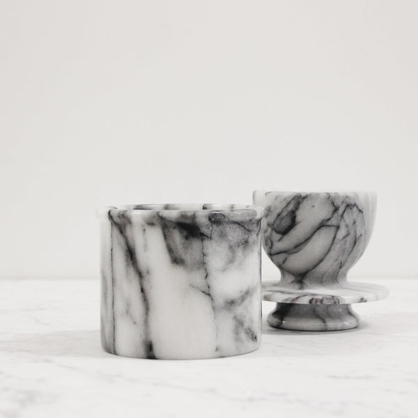 Carrera Marble Butter Keeper
