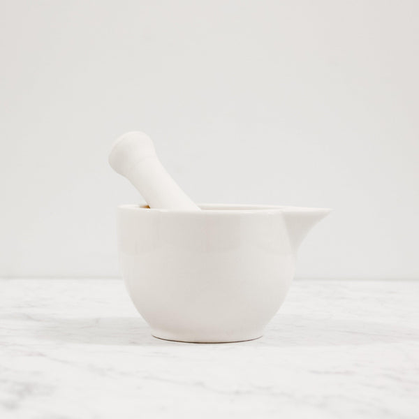 mason cash white ceramic mortar and pestle