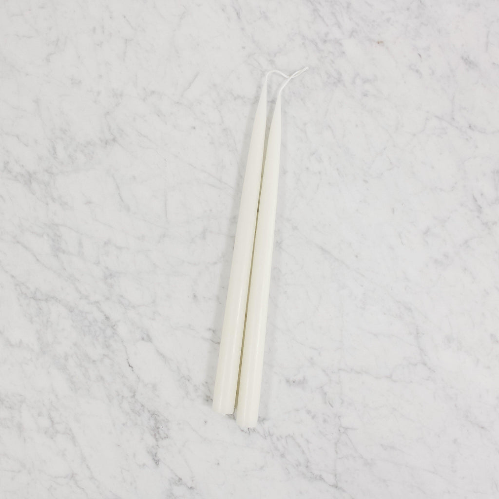 Danish Tapers - Off White