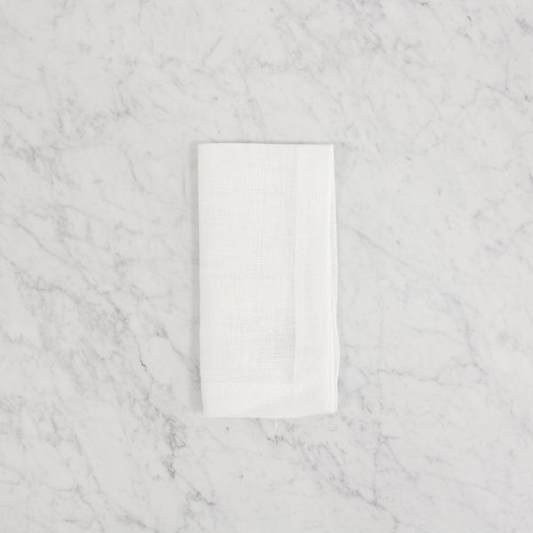 Linen Way - Urban Chic Ivory Napkins (4) and Runner
