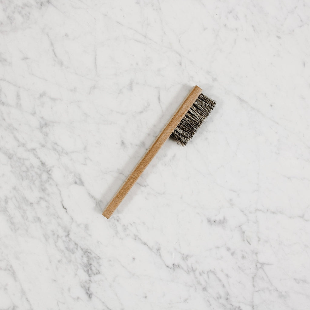 cape cod brand polishing detail brush with coarse bristles