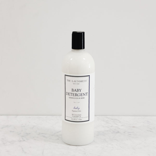 bottle of laundress new york gentle and luxurious baby detergent