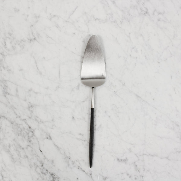 "cutipol ""goa"" pastry server with black handle"