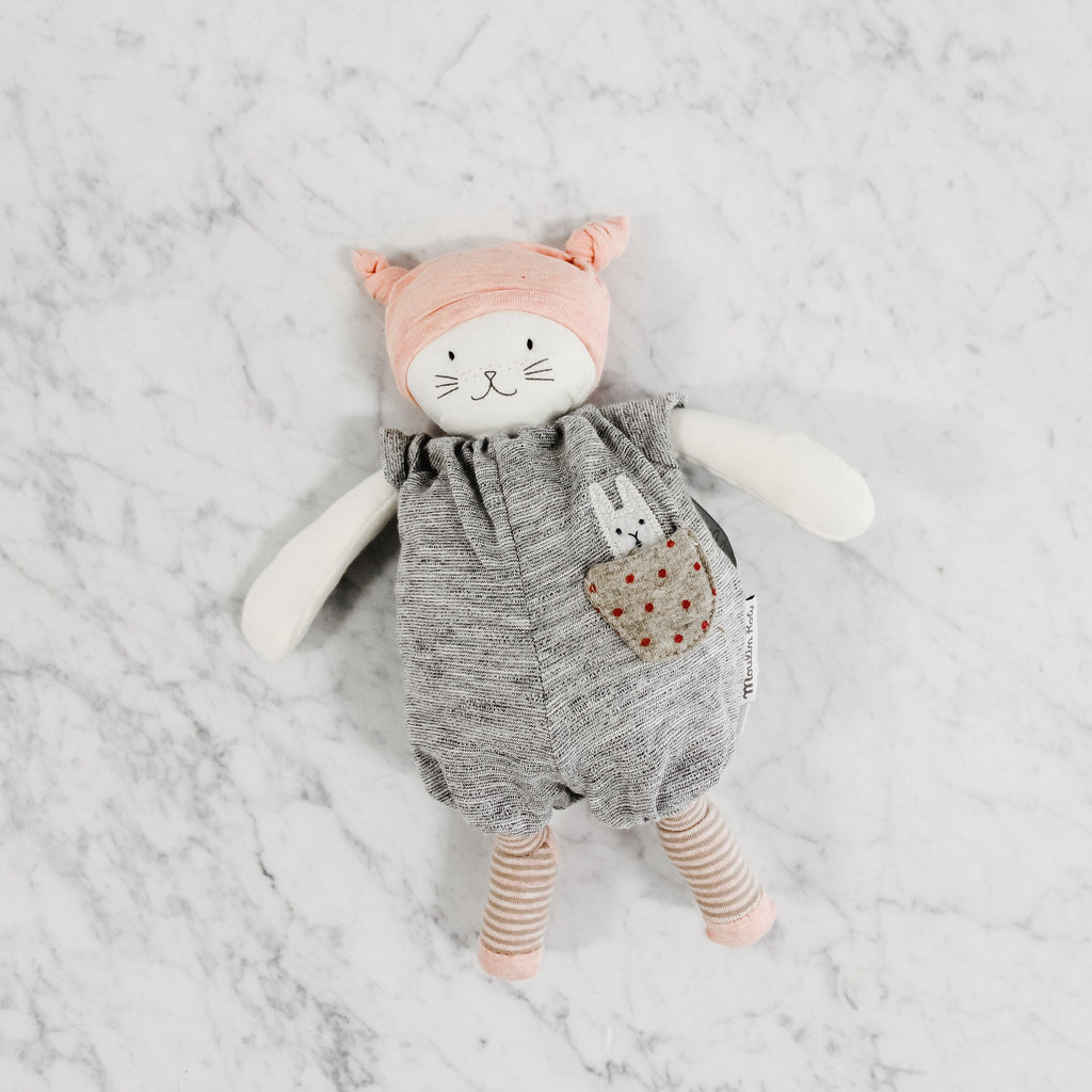 Moulin Roty Cat Moon Musical Toy