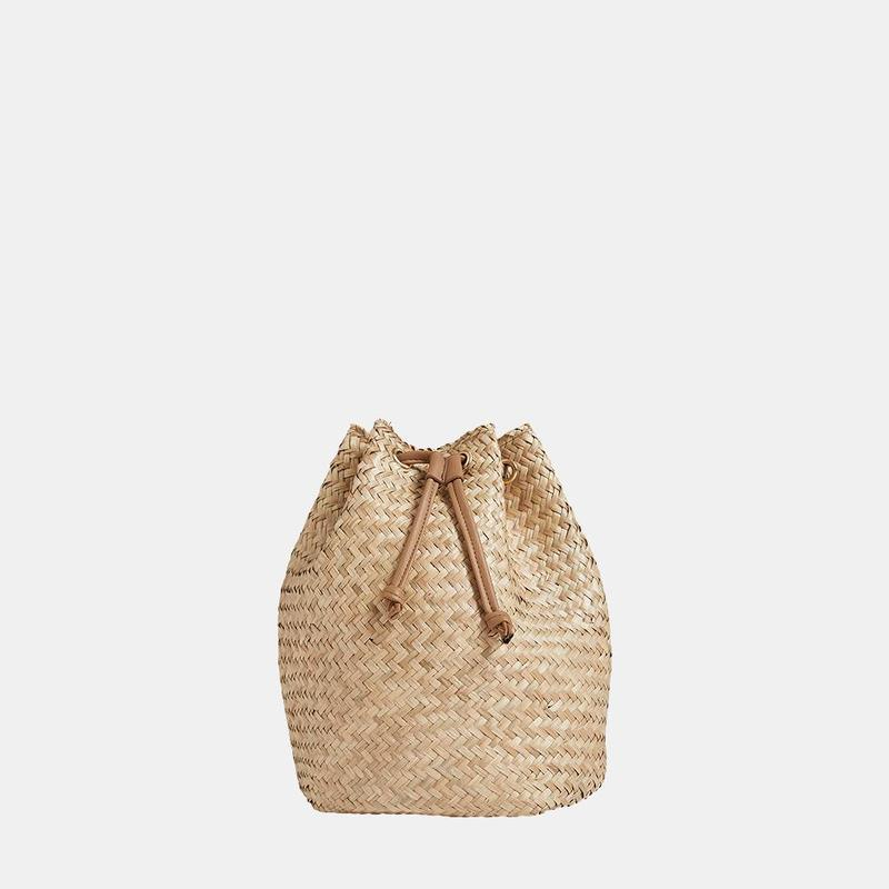 Olli Ella Satch Seagrass Backpack