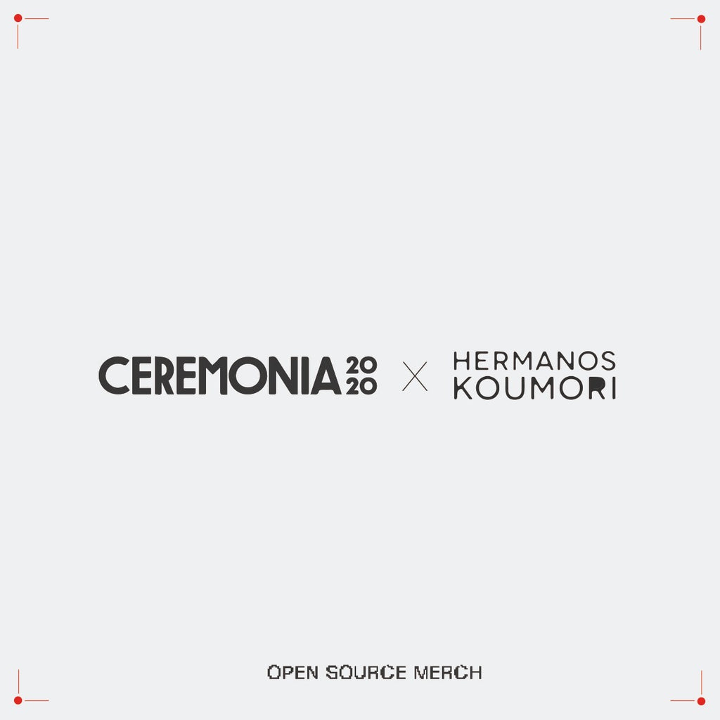 Open Source Merch Festival Ceremonia x Hermanos Koumori