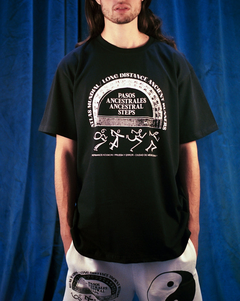 Atlas Mundial Black T-Shirt