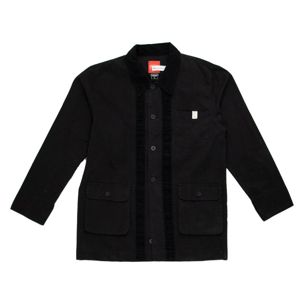 HKEstudio Black Chore-Coat Size Large
