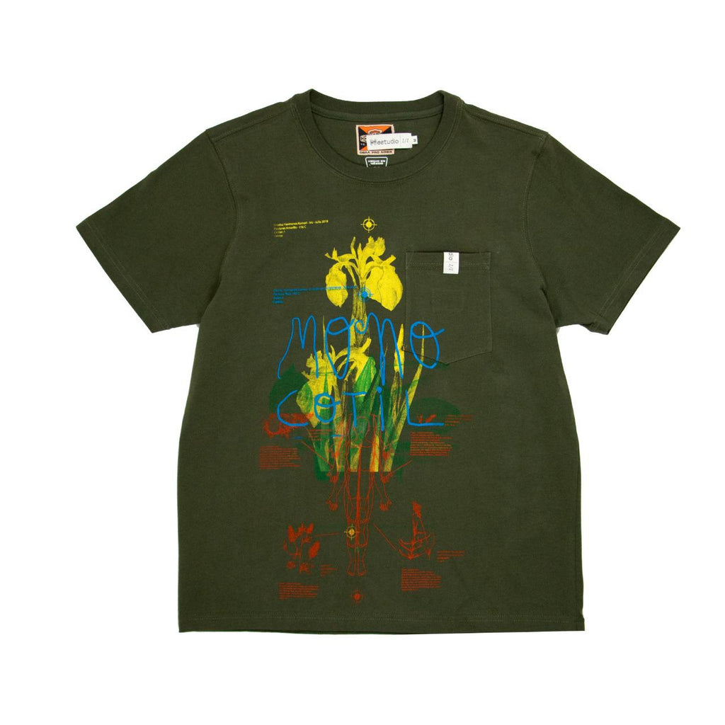 HKEstudio Green T-Shirt Size Medium