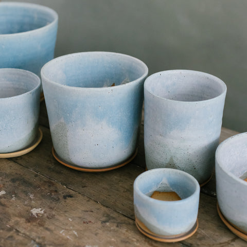 Blue Frost Planter