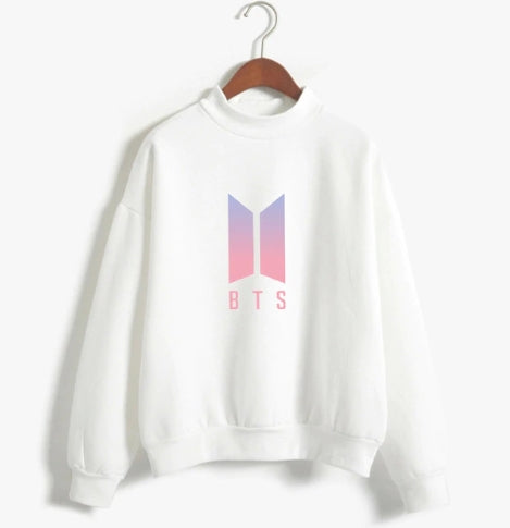 BTS Hoodies Bangtan Boys Love Yourself Album Print Sweatshirt Women Pullovers Kpop Korean Style Casual Sudadera MujerBTS Hoodies Bangtan Boys Love Yourself Album Print Sweatshirt Women Pullovers Kpop Korean Style Casual Sudadera Mujer
