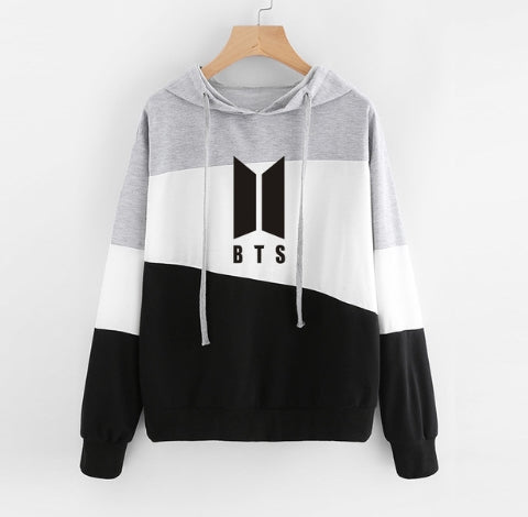 BTS Hoodies for Women Plus Size Feminino Pullover Coat Bangtan Boys Oversized Hoodie Sweatshirt Women Streetwear Top