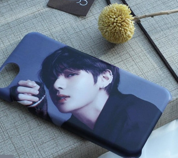 BTS V phone cases/bts goods/iphone case/galaxy case