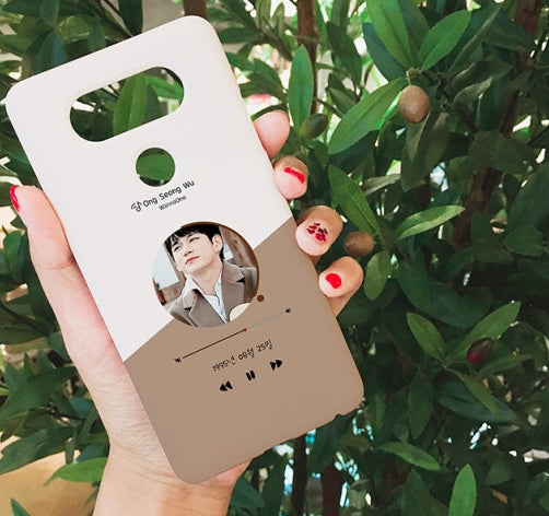 Wannaone two tone player phone case