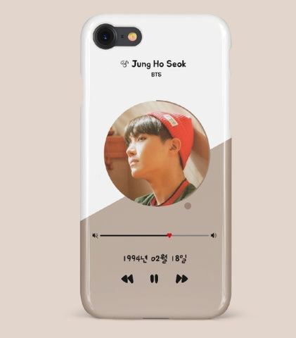 BTS j hope phone cases-iphone galaxy