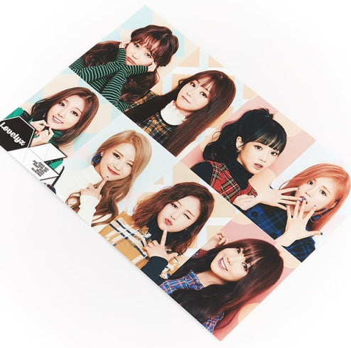 Lovelyz Photo poster bromide 12pcs and stickers set