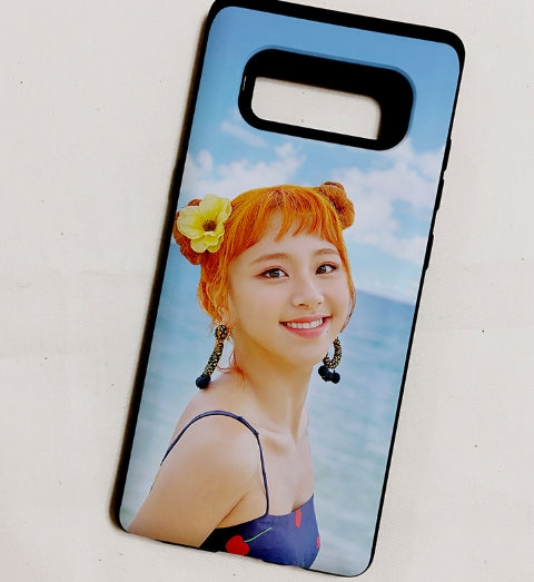 Twice-dance the night away beach phone case