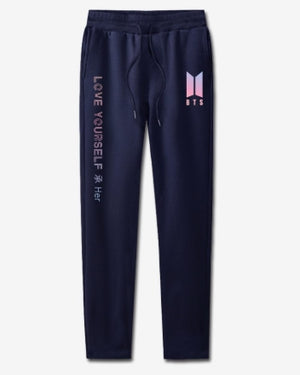 BTS Kpop 100% Cotton sweat pants Women High Quality Casual Warm Sweatpants Jogger harem pants