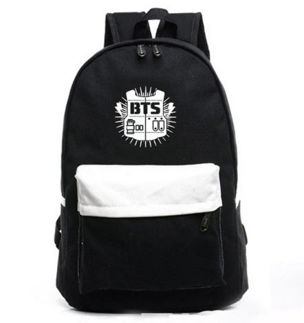 Bangtan Boys Backpack BTS  Bag Laptop Bag
