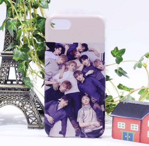 Wanna one group printed phone case/iphone case/galaxy case