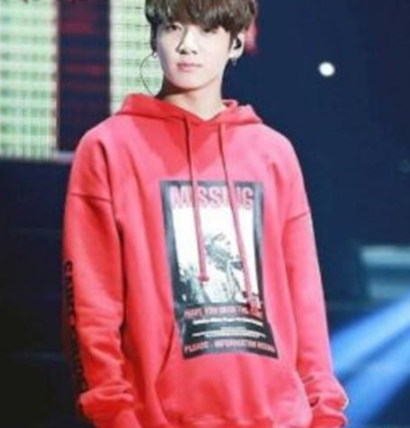 BTS jungkook airport fashion hoodies sweatshirt bts t shirt