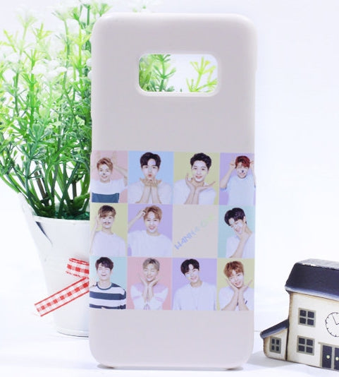 wanna one member phone cases-iphone galaxy case