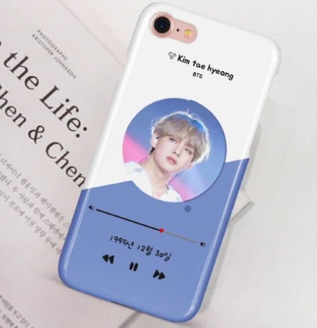 BTS tae hyung v phone caes-iphone case galaxy case